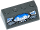 Part No: 3037pb039  Name: Slope 45 2 x 4 with Justice League Javelin Spaceship Control Panel Pattern (Sticker) - Set 76028