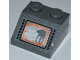 Part No: 3039pb065  Name: Slope 45 2 x 2 with SW AT-AT on Dark Bluish Gray Background Pattern (Sticker) - Set 8089