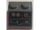 Part No: 3039pb089  Name: Slope 45 2 x 2 with Red and Gray and Green Buttons and Controls Pattern (Sticker) - Set 8088