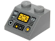 Part No: 3039pb102  Name: Slope 45 2 x 2 with SW Y-Wing Control Panel Pattern (Sticker) - Set 75172