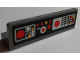 Part No: 30413pb058  Name: Panel 1 x 4 x 1 with SW Control Panel and Buttons Pattern 1 (Sticker) - Set 7879