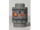 Part No: 3062bpb054  Name: Brick, Round 1 x 1 Open Stud with SW IG-88 Head Pattern 2