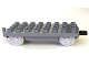 Part No: 31300c03  Name: Duplo, Train Base 4 x 8 with Light Bluish Gray Train Wheels and Movable Hook