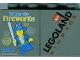 Part No: 4066pb384  Name: Duplo, Brick 1 x 2 x 2 with Wizards Fireworks 2010 Legoland Windsor Pattern