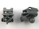 Part No: 47312  Name: Bionicle Head Connector Block (Toa Metru)