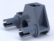 Part No: 50901  Name: Bionicle Rhotuka Connector Block 1 x 3 x 2 with 2 Pins and Axle Hole