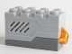 Part No: 55206c06  Name: Electric, Sound Brick 2 x 4 x 2 with Light Bluish Gray Top and Doorbell then Dog Bark Sound (Set 5771)