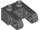 Part No: 85943  Name: Technic, Brick 1 x 2 with Hole and Dual Liftarm Extensions