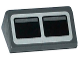 Part No: 85984pb076  Name: Slope 30 1 x 2 x 2/3 with 2 Black Squares on Light Bluish Gray Background Pattern (Sticker) - Set 75052