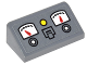 Part No: 85984pb110  Name: Slope 30 1 x 2 x 2/3 with 2 Gauges, Buttons and Switch Pattern (Sticker) - Set 76052