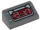 Part No: 85984pb175  Name: Slope 30 1 x 2 x 2/3 with SW Resistance Transport Pod Control Panel Pattern (Sticker) - Set 75176