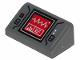 Part No: 85984pb206  Name: Slope 30 1 x 2 x 2/3 with Signs Of Life Red Monitor Pattern (Sticker) - Set 75251