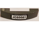 Part No: 93273pb041  Name: Slope, Curved 4 x 1 Double No Studs with 'JC60081' Pattern (Sticker) - Set 60081