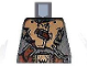 Part No: 973pb0460  Name: Torso Castle Fantasy Era Armor with Brown Belts and Troll Symbol Buckle Pattern