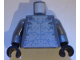 Part No: 973pb0800c01  Name: Torso Atlantis Hammerhead Warrior Pattern / Dark Bluish Gray Arms / Black Hands