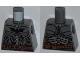 Part No: 973pb1344  Name: Torso Batman Logo with Body Armor and Copper Belt Pattern