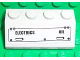 Part No: 3037pb025R  Name: Slope 45 2 x 4 with 'ELECTRICS' and 'OIL' Pattern (Sticker) - Set 7723