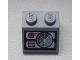 Part No: 3039pb069  Name: Slope 45 2 x 2 with Radar Screen and Red Button Pattern (Sticker) - Set 8639