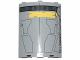 Part No: 30562pb040  Name: Cylinder Quarter 4 x 4 x 6 with SW Droid Escape Pod Pattern 1 (Sticker) - Set 75136