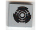 Part No: 3068bpb0400  Name: Tile 2 x 2 with Groove with Black Broken Circle Pattern (Sticker) - Set 7709