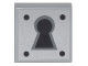 Part No: 3070bpb081  Name: Tile 1 x 1 with Keyhole Pattern