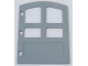 Part No: 31023  Name: Duplo Door 1 x 4 x 4 with Four Panes and Curved Top