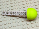 Part No: 32133ac05  Name: Technic Competition Arrow, Liftarm Shaft with Solid Lime Rubber End