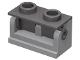 Part No: 3937c05  Name: Hinge Brick 1 x 2 Base with Dark Bluish Gray Hinge Brick 1 x 2 Top (3937 / 3938)