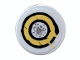 Part No: 4150pb034  Name: Tile, Round 2 x 2 with Worn Target Pattern (Sticker) - Set 5378
