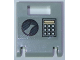 Part No: 4346pb34  Name: Container, Box 2 x 2 x 2 Door with Slot and Handle and Keypad (Square Buttons) Pattern (Sticker) - Set 60137