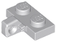 Part No: 44567b  Name: Hinge Plate 1 x 2 Locking with 1 Finger on Side with Bottom Groove