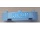 Part No: 48092pb001  Name: Brick, Round Corner 4 x 4 Macaroni Wide with 3 Studs and 'COOLANT' Pattern (Sticker) - Set 8487