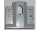 Part No: 48490pb01  Name: Panel 3 x 8 x 6 with Window with Light Bluish Gray Bricks Pattern (Stickers) - Set 8813/8823