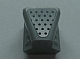Part No: 50943pb02  Name: Vehicle, Air Scoop Top 2 x 2 with Black Dots on Silver Pattern (Sticker) - Set 8137