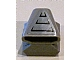 Part No: 50943pb08  Name: Vehicle, Air Scoop Top 2 x 2 with Air Intake Pattern (Sticker) - Set 8140