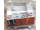Part No: 51547pb05  Name: Duplo, Train Cab / Tender Base with Bottom Tube and Thomas & Friends Toby #7 Pattern