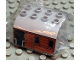 Part No: 51548pb01  Name: Duplo, Train Cab Upper Section with Thomas & Friends Toby Pattern