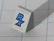 Part No: 54200pb014  Name: Slope 30 1 x 1 x 2/3 with Blue 'RX' Pattern (Sticker) - Set 8120