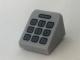 Part No: 54200pb083  Name: Slope 30 1 x 1 x 2/3 with Dark Bluish Gray Telephone Keypad Pattern