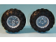 Part No: 56145c02  Name: Wheel 30.4mm D. x 20mm with No Pin Holes and Reinforced Rim with Black Tire 56 x 26 Balloon (56145 / 55976)