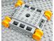 Part No: 59352c01  Name: Duplo Crawler Digger Base 8 x 9 x 2