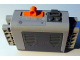 Part No: 59510c01pb01  Name: Electric 9V Battery Box 4 x 11 x 7 PF Complete Assembly with '*' and 'o' Pattern (Sticker) - Set 8297