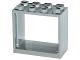Part No: 60598  Name: Window 2 x 4 x 3 Frame - Hollow Studs