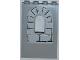 Part No: 60808pb009  Name: Panel 1 x 4 x 5 with Window with Light Bluish Gray Bricks Pattern 2 (Sticker)