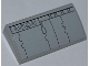 Part No: 88930pb022  Name: Slope, Curved 2 x 4 x 2/3 No Studs with Bottom Tubes with SW Millennium Falcon Pattern 1 (Sticker) - Set 7965