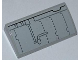 Part No: 88930pb023  Name: Slope, Curved 2 x 4 x 2/3 No Studs with Bottom Tubes with SW Millennium Falcon Pattern 2 (Sticker) - Set 7965