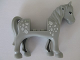 Part No: 93083c01pb09  Name: Horse with 2 x 2 Cutout, Light Bluish Gray Eyes and White Spots Pattern