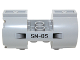 Part No: 93168pb03R  Name: Cylinder 3 x 6 x 2 2/3 Horizontal, New Style with Black Vents and 'SM-05' Pattern Model Right Side (Sticker) - Set 70724