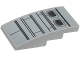 Part No: 93606pb066  Name: Slope, Curved 4 x 2 No Studs with SW Resistance Transport Pod Hull Plates Pattern (Sticker) - Set 75176