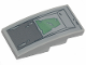 Part No: 93606pb083  Name: Slope, Curved 4 x 2 No Studs with SW Clone Scout Walker Hull Plates, Dark Bluish Gray and Sand Green Peeling Paint Pattern (Sticker) - Set 75261